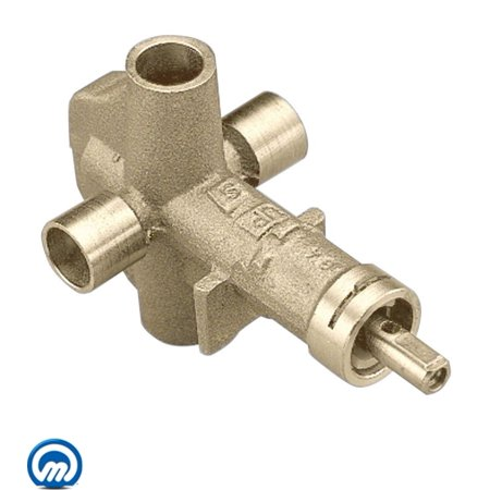 Moen 62700 1/2 Inch IPS Pressure Balancing Rough-In Valve with Integrated Volume Control from the M-PACT Collection