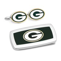 Men's Green Bay Packers Cufflinks and Money Clip Set