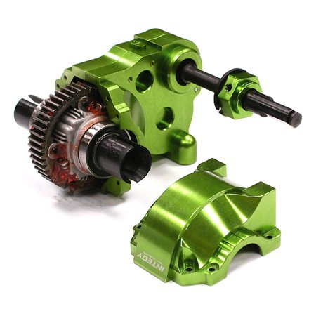 Gear Diff Case (Integy RC Toy Model Hop-ups BAJ176GREEN Type IV Complete Gear Box w/ Heavy-Duty Diff & Gears for HPI Baja 5B, 5T &)