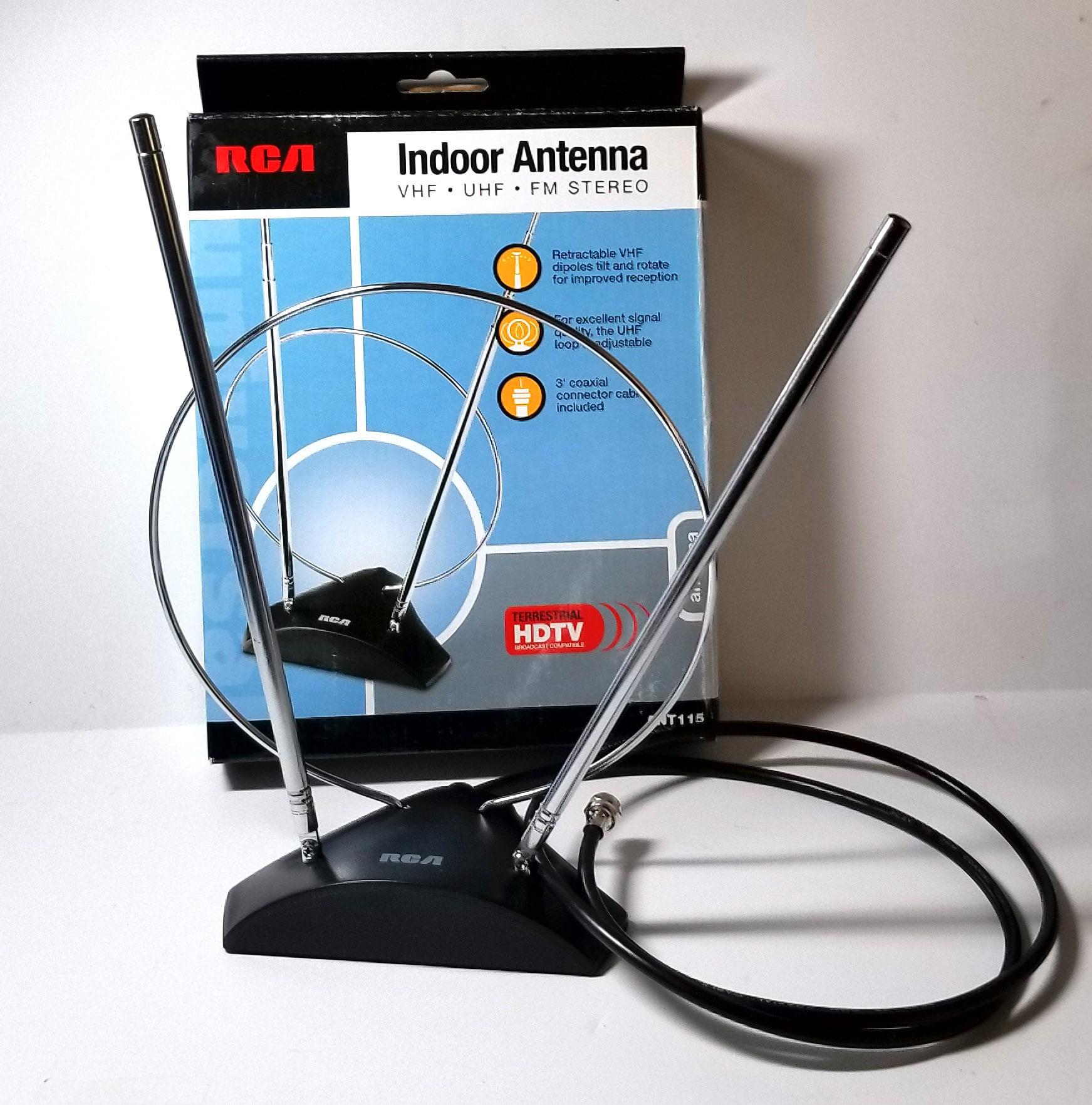 RCA Indoor Antenna HDTV, VHG, UHF, FM Stereo