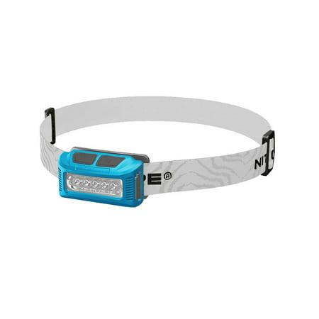 Blue Headlamp - NITECORE NU10 Rechargeable 160 Lumen White/Red LED Headlamp (Blue)