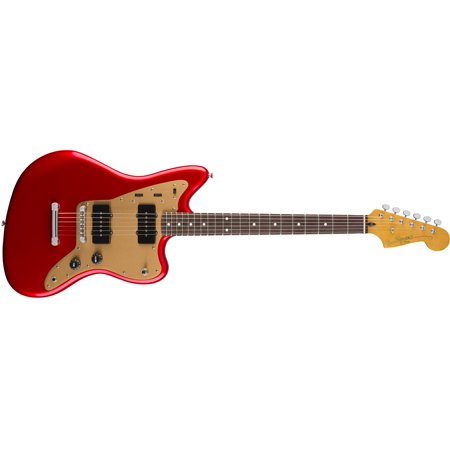 Fender Squier Deluxe Jazzmaster ST Electric Guitar, Rosewood Fingerboard - Candy Apple Red