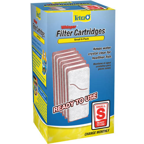 Tetra Whisper Small Filter Cartridges, 6ct