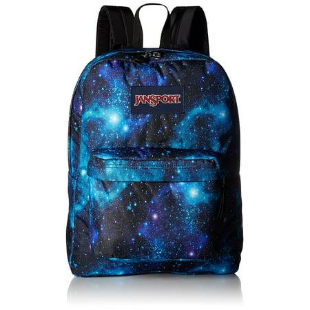 JanSport Superbreak Backpack - Galaxy School Bag