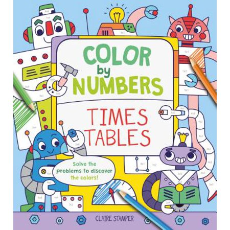 Color by Numbers: Times Tables](Halloween Times Tables Worksheet)