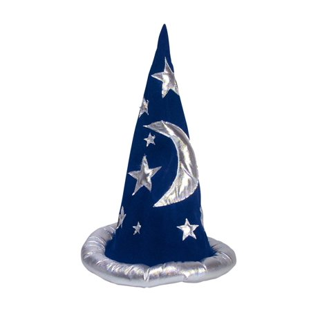 Cp New Costume Merlin Blue Wizard Hat One Size Fits Most](Paper Wizard Hat)