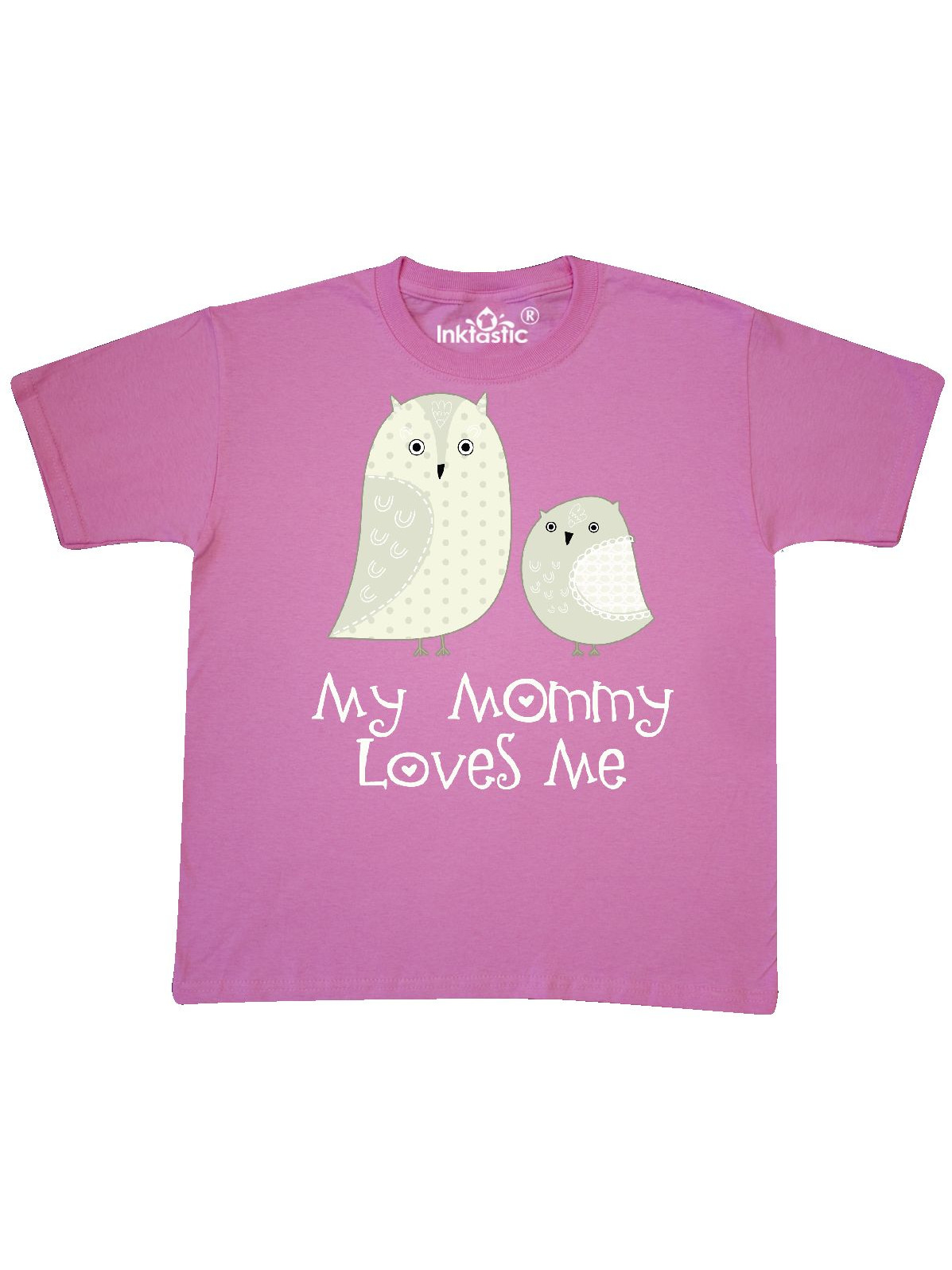 My Mommy Loves Me owl Youth T-Shirt