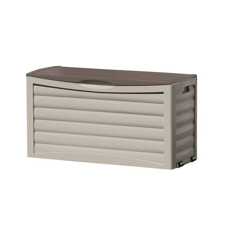 - Suncast 63 Gallon Deck Box, Light Taupe, DB6300
