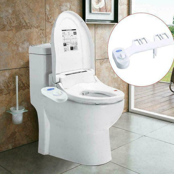 Bidet Fresh Water Spray Mechanical Bidet Toilet Seat Attachment Non Electric Walmart Com Walmart Com