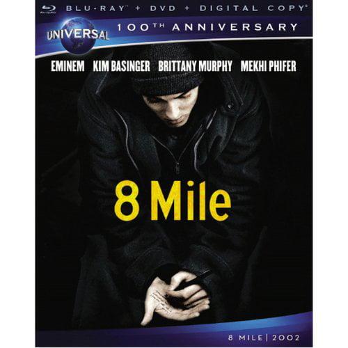 Universal 8 Mile Bd+dvd+dc Std Ws Excl