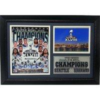 "Super Bowl XLVIII Champions Photo Stat Frame, Seattle Seahawks, 12"" x 18"""
