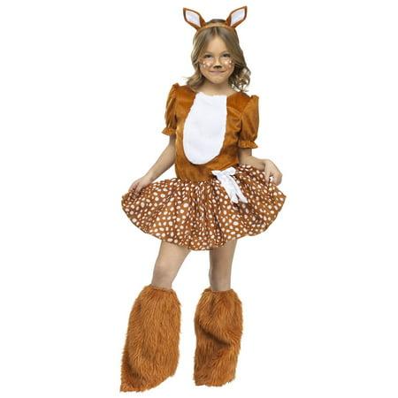 Halloween Girl's Oh Dear! Costume - Oh Deer Halloween Costume