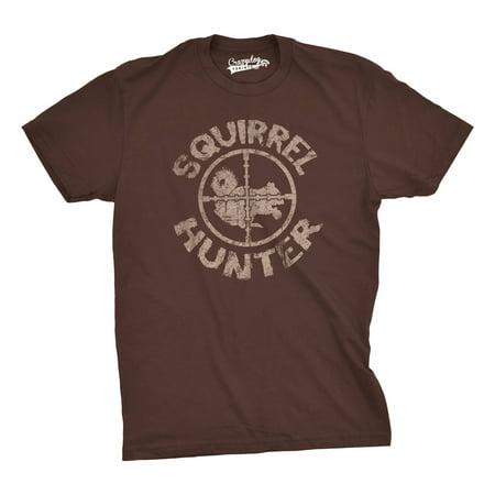 Crazy Dog T-shirts Squirrel Hunter T Shirt Funny Hunting Shirt Squirrels Tee