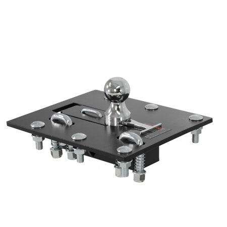 - Curt Manufacturing Cur61052 Folding Ball Gooseneck Hitch Assembly