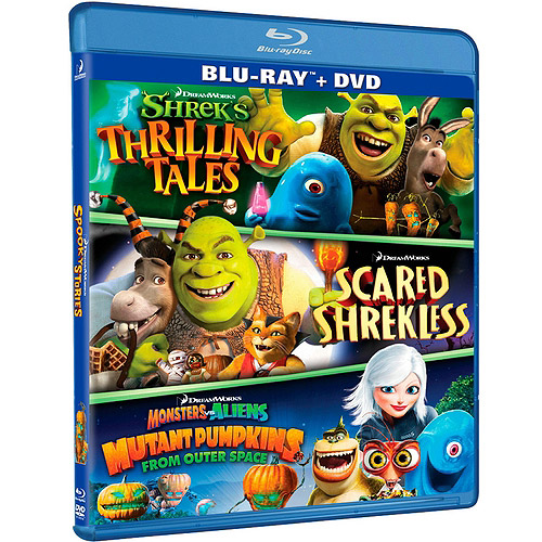 Dreamwork's Spooky Stories: Shreks Thrilling Tales / Scared Shrekless / Mutant Pumpkins From Outer Space (Blu-ray) (Widescreen)