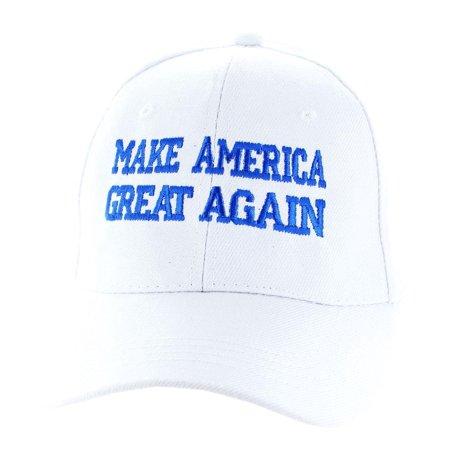 "Donald Trump 2016 ""Make America Great Again"" White Hat - image 1 de 1"