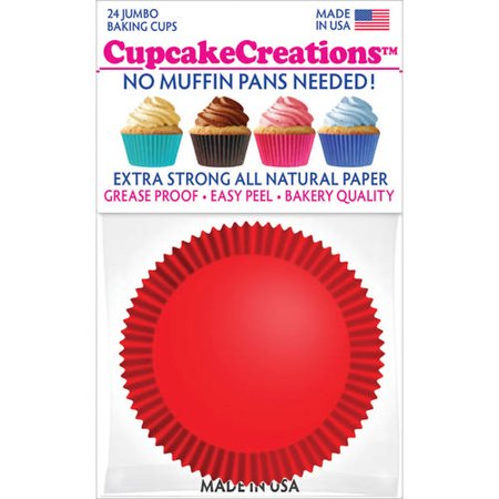 Valentine Baking Supplies (Jumbo Baking Cups)