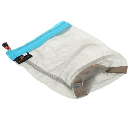 Ultralight Drawstring Mesh Stuff Sack Storage Bag for Tavelling Camping Sports Large/Medium/Small Size