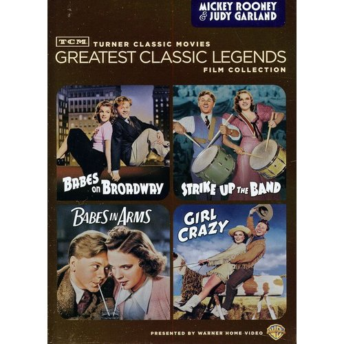 TCM Greatest Classic Legends: Mickey Rooney & Judy Garland - Girl Crazy / Babes In Arms / Strike Up The Band / Babes On Broadway