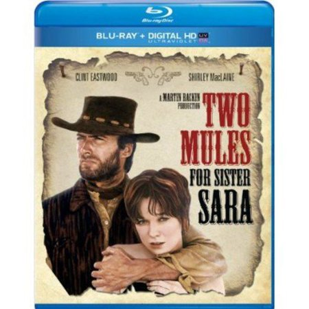 Two Mules For Sister Sara  1970   Blu Ray   Digital Hd   With Instawatch   Widescreen