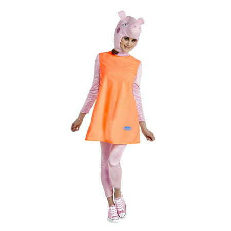 Three Little Pigs Halloween Costumes (Peppa Pig - Mummy Pig Adult Halloween)