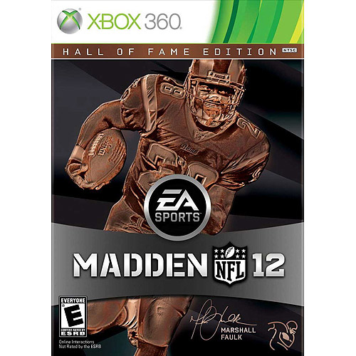 Madden NFL 12 Hall of Fame Edition (Xbox 360)