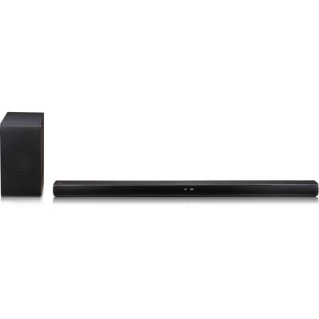 LG 4.1 Channel 360W Music Flow Wi-Fi Streaming Soundbar with Wireless Subwoofer - (Insignia 2-1 Channel Soundbar With Wireless Subwoofer)
