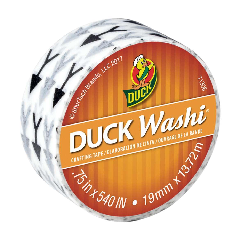 "Duck Brand Washi Crafting Tape, 0.75"" x 15 yards, Arrows"