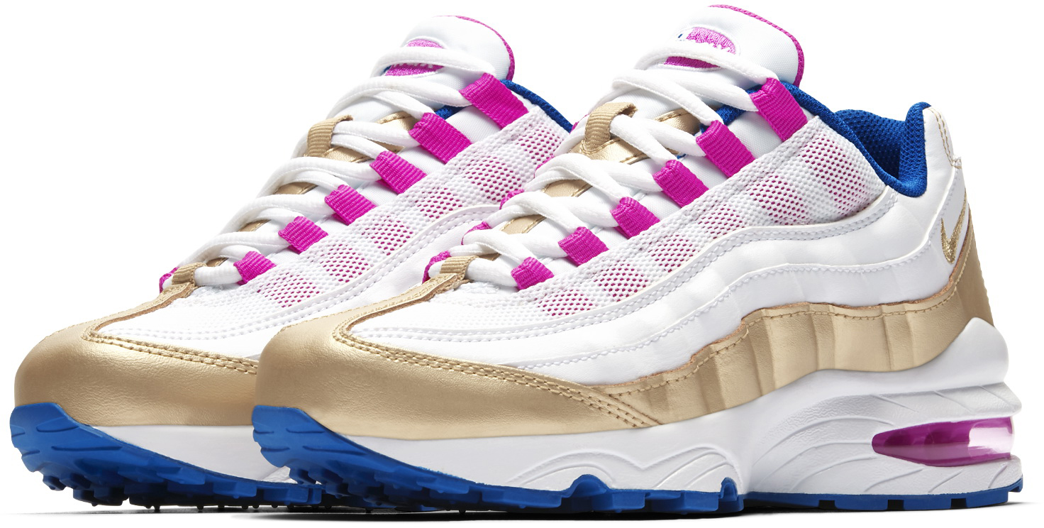 NIKE AIR MAX '95 LE (GS) Girls Sneakers 310830-120