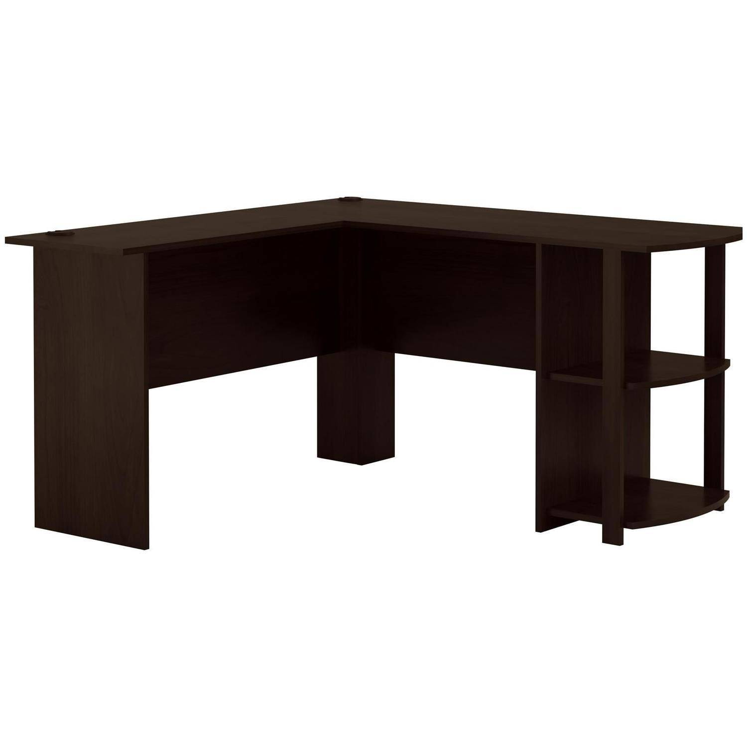 Home Office L Shaped Desk l-shaped desk with side storage, multiple finishes - walmart