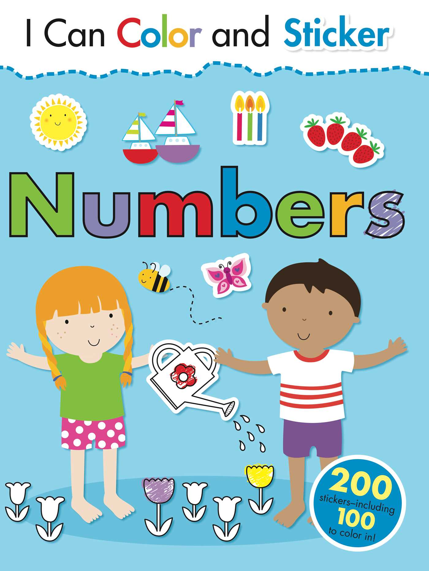 I Can Color and Sticker: Numbers (Part of I Can Color and Sticker ...