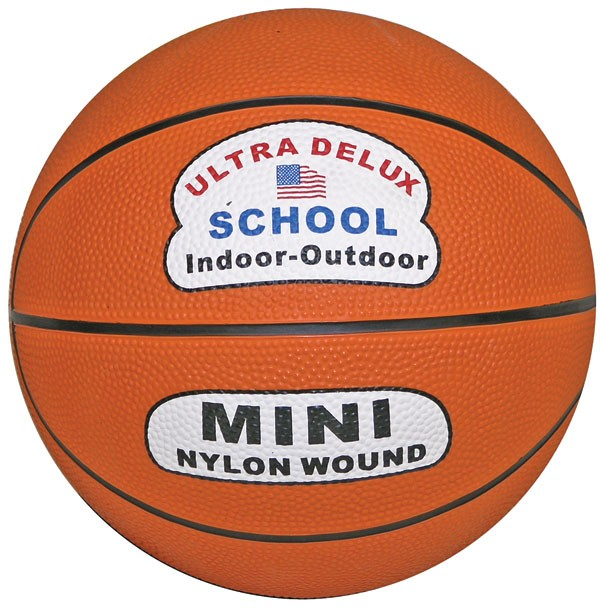 Mini Orange Basketball