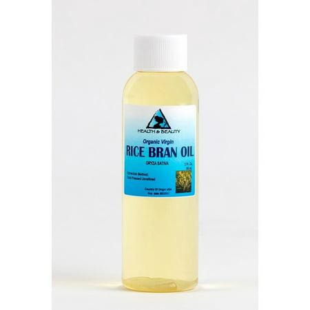 RICE BRAN OIL UNREFINED ORGANIC CARRIER COLD PRESSED VIRGIN RAW PURE 2