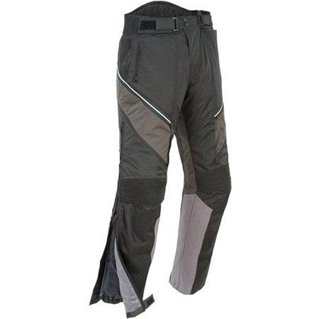 Joe Rocket Alter Ego 2.0 Mens Black/Grey Textile Motorcycle Pants