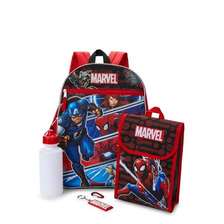 Marvel 5-Piece Backpack Set Now $11.50