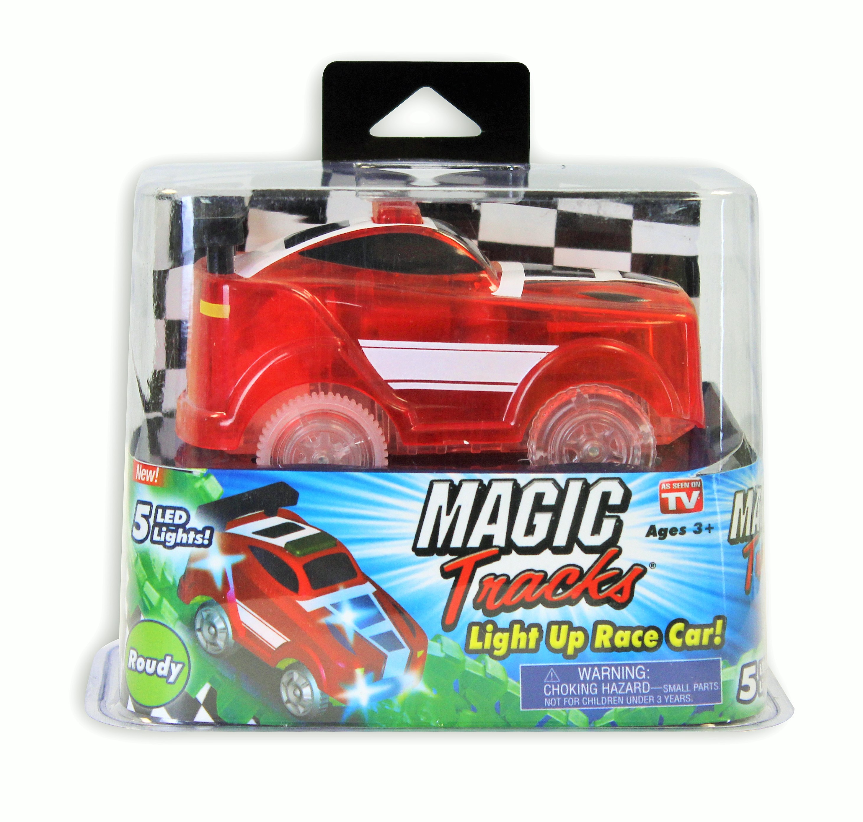 Magic Tracks Light Up Race Car As Seen on TV