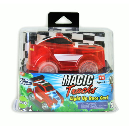 Magic Tracks Light Up Race Car As Seen on TV