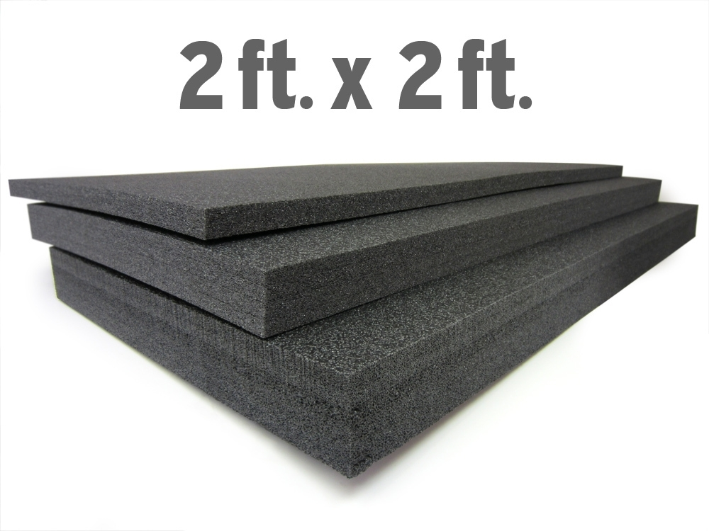 "Custom Thick Foam Tool Organizers 24"" x 24"" x 1"" Thick by 5S Supplies LLC"