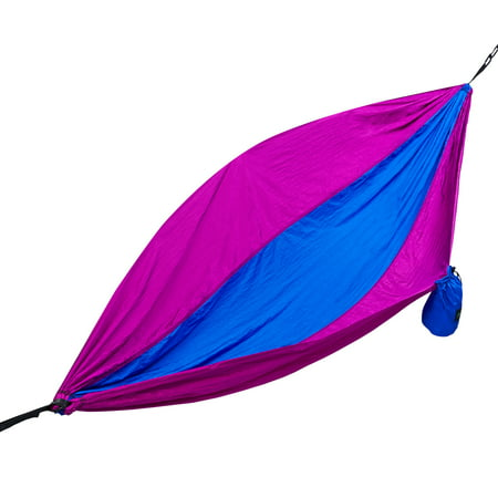 Two Person Parachute Camping Hammock with Nautical Grade Tree