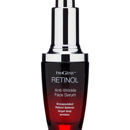 Progenix Professional Skin Care Retinol Serum. Anti-Wrinkle Face serum targets deep wrinkles and dark spots. (Olay Professional Pro X Deep Wrinkle Treatment Ingredients)