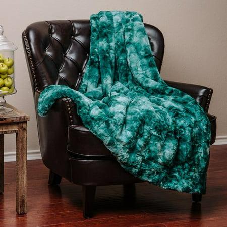 Chanasya Super Soft Fuzzy Fur Warm Cozy Sherpa Throw Blanket ()