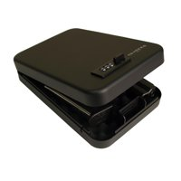 Tracker Safe SPS-01 Security Safe in Black with Dial Lock