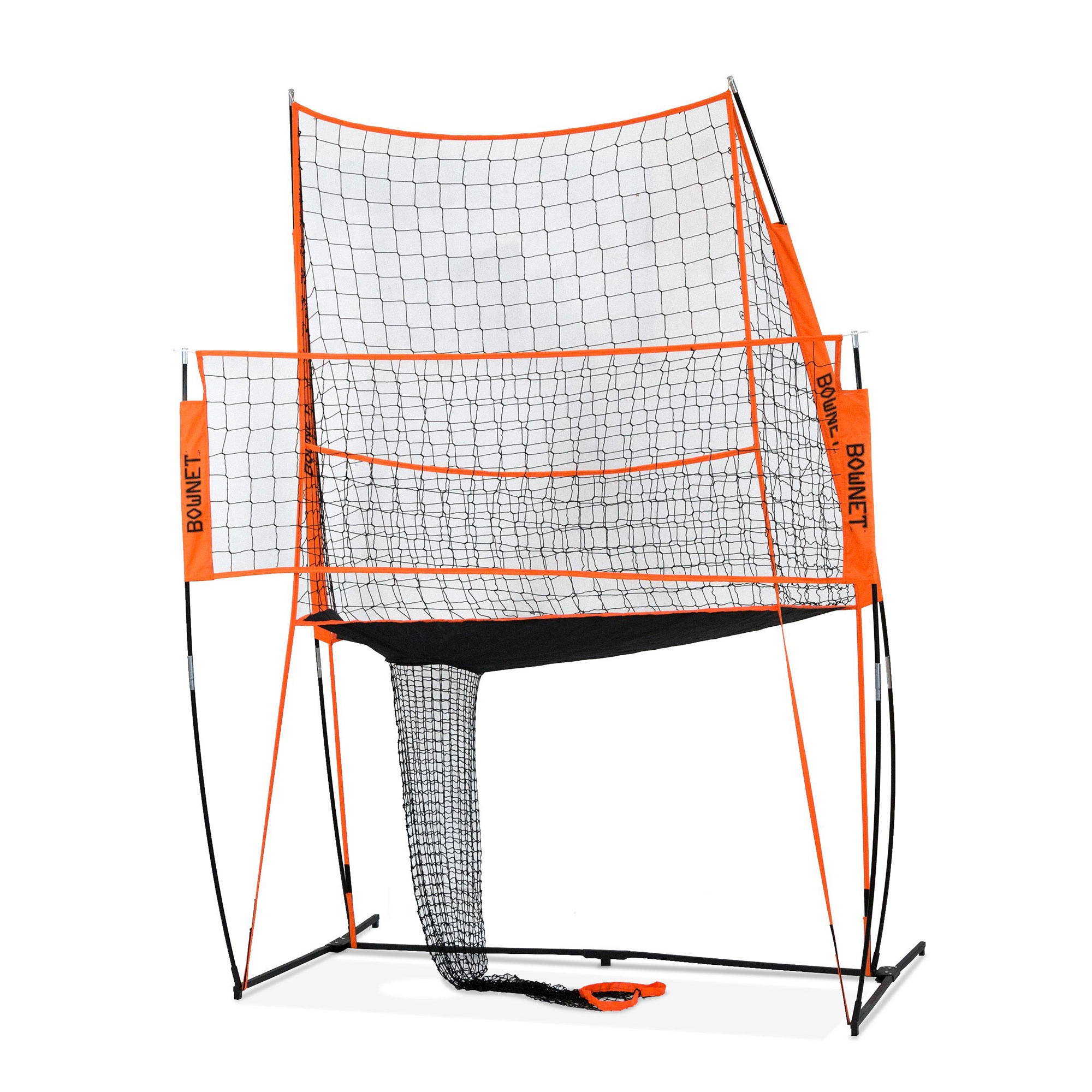 Bownet Portable Indoor Outdoor Spike Trainer Volleyball Practice Net Station