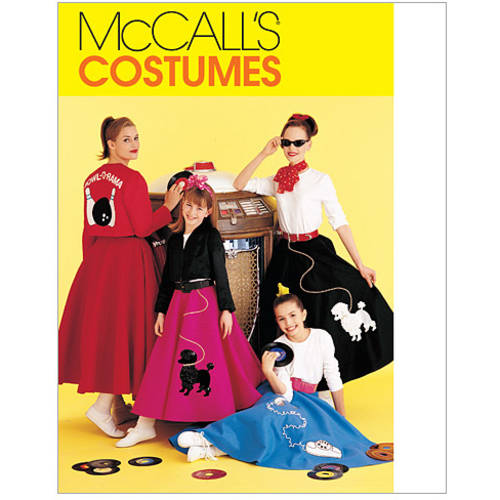 McCall's Misses' and Girls' Costumes, (XL)