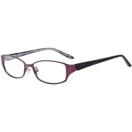 Rampage Women\'s Eyeglass Frames, Plum - Walmart.com