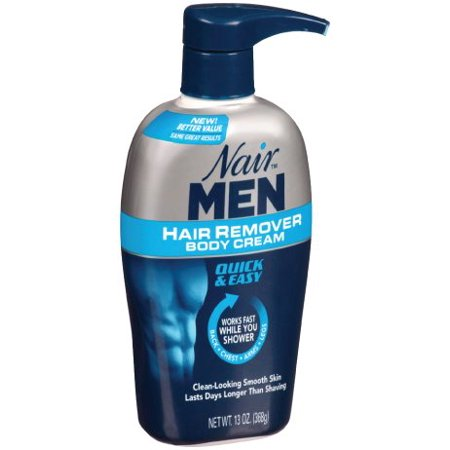 Nair Men Hair Removal Cream - 13 oz (Best Hair Removal For Pubic Area)