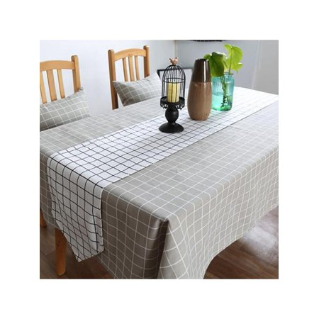 tablecloth rectangular table cloth for 6 foot table in washable polyester great for buffet. Black Bedroom Furniture Sets. Home Design Ideas