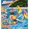 Banzai Splash Battle Islands (Inflatable Pool Summer Floating Aqua Water Sports Fun)