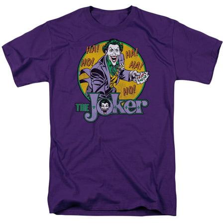 DC Comics The Joker Mens Short Sleeve Shirt](Joker Girlfriend)