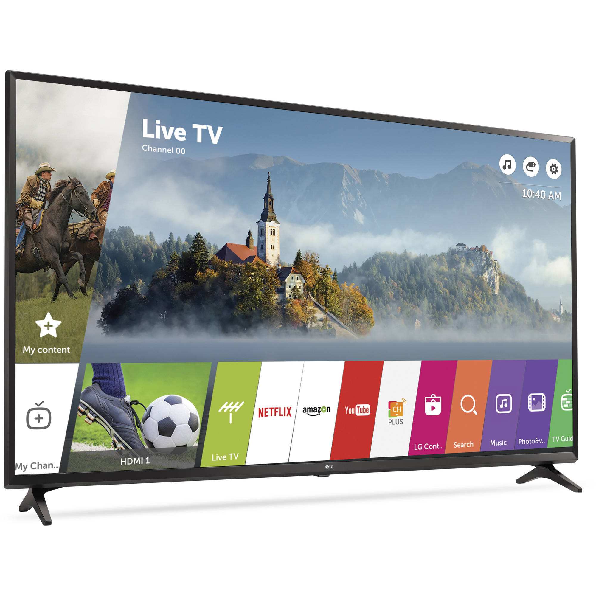 "LG 43"" Class 4K (2160p) Ultra HD Smart LED TV (43UJ6300)"